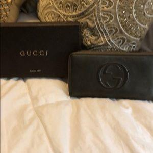 Gucci gun metal grey